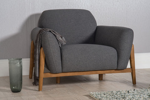Milo Armchair - Dark Grey