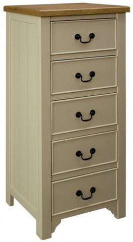Oakleigh 5 Drawer Tallboy