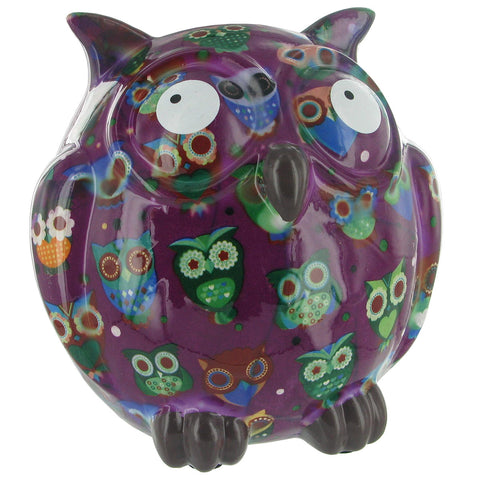 Pomme Pidou Owl (Dark Purple)