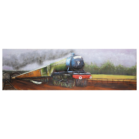 The Flying Scotsman 3D Metal Wall Art
