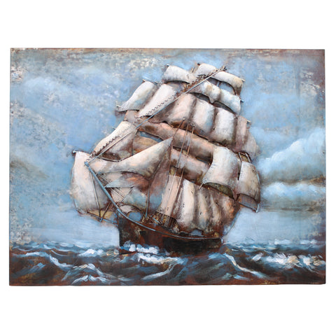 The Cutty Sark 3D Metal Wall Art