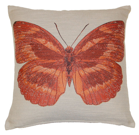 Butterfly Terracotta Scatter Cushion
