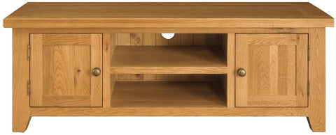 Michigan Oak TV Unit