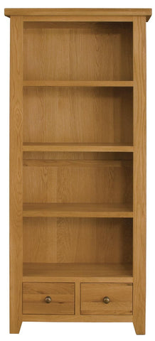 Michigan Oak Tall Bookcase