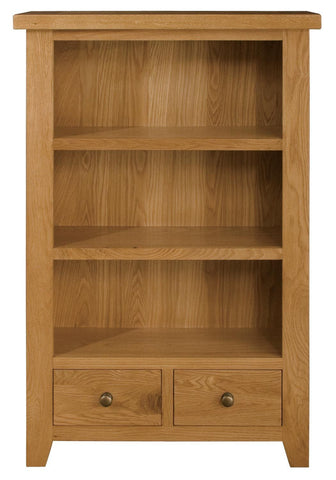 Michigan Oak Low Bookcase