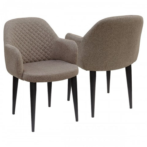 Dameo Fabric Dining Tub Chair