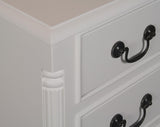 Grosvenor 3 Drawer Bedside