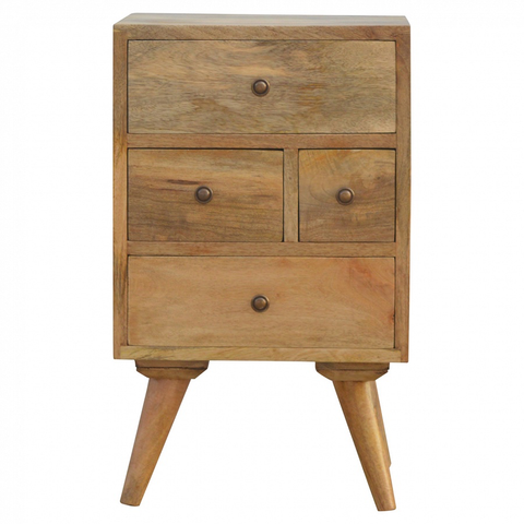 Granary Royale Scandinavian Style 4 Drawer Petite Table