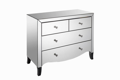Valentina 2+2 Chest of Drawers