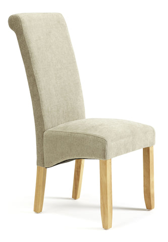 Kingston Dining Chair in Plain Sage/Oak (2 Chairs Included)