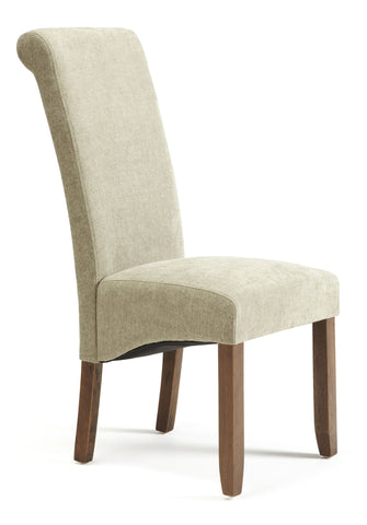 Kingston Dining Chair in Plain Sage/Walnut (2 Chairs Included)