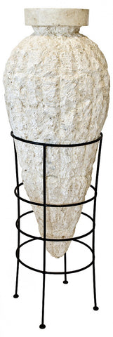 Jano Mactan Stone Rough Jar