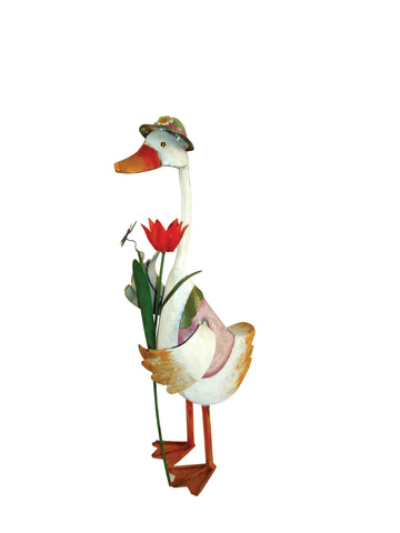 Jemima Duck with Flowers from Vivid Arts