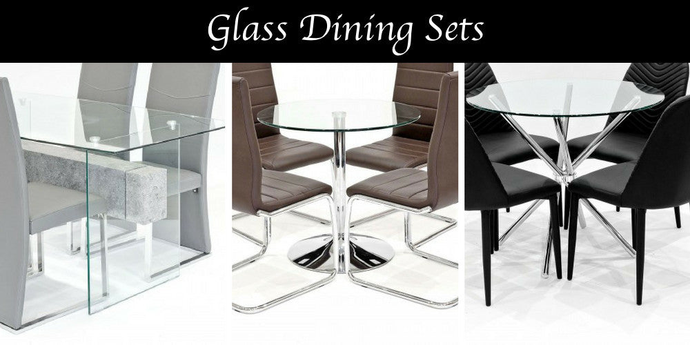 Glass Dining Sets Jackson Cove Blackpool Furniture Store
