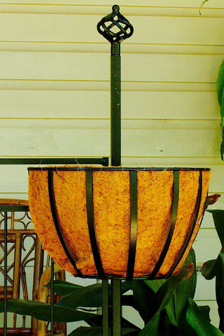 Half Round Planter with Wall Hook