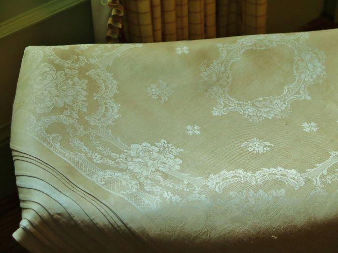French Double Damask Linen