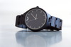 EBONY & SILVER LIMITED EDITION Minimalist Watch