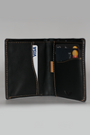 Note Sleeve Wallet - Napa Black