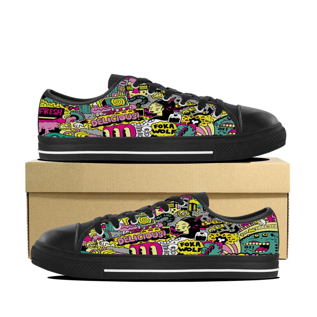 FokaWolf Cosmic Low Top Shoes