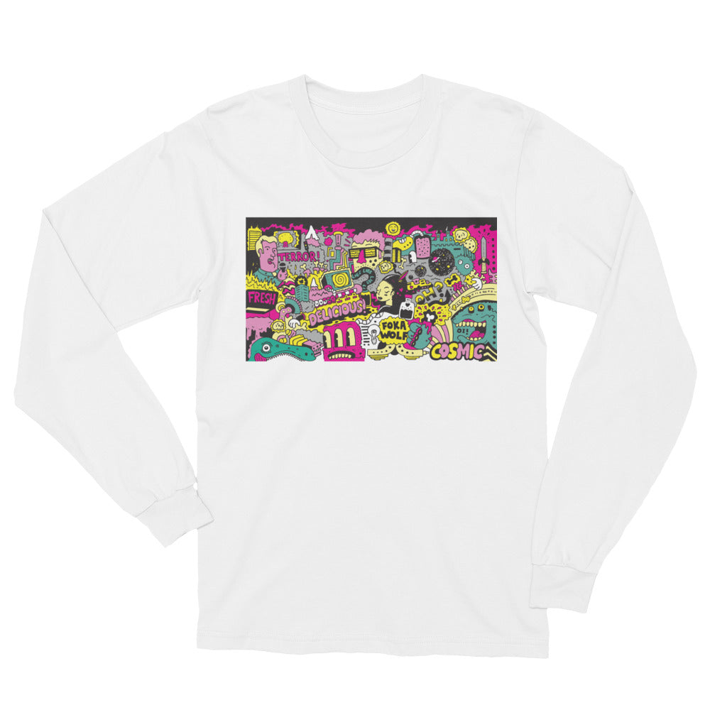 FokaWolf  (Cosmic) Long Sleeve T-Shirt