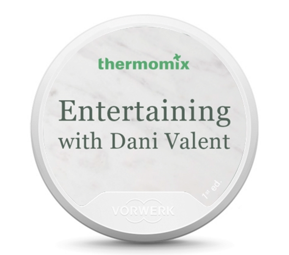 Entertaining with Dani Valent Recipe Chip FREE SHIPPING