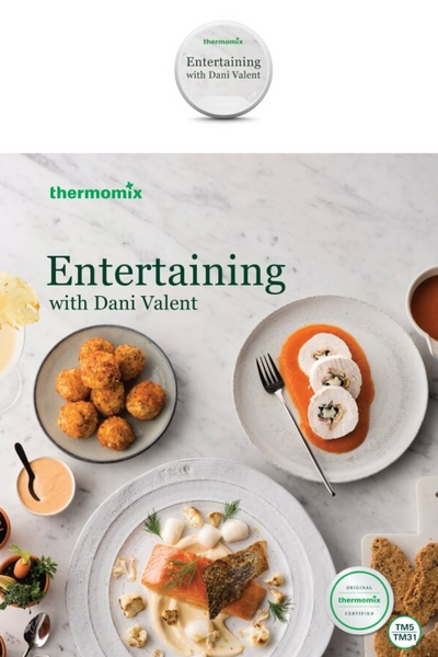 Entertaining with Dani Valent Recipe Book & Chip Bundle