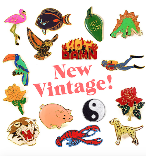 Our Collection of Vintage Pins and Patches Just Got Much Bigger
