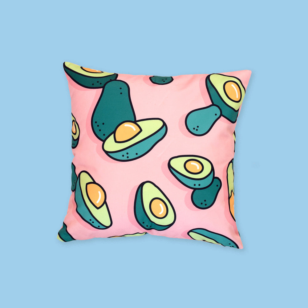 Avocado Shower Pillow by Rachel Peck