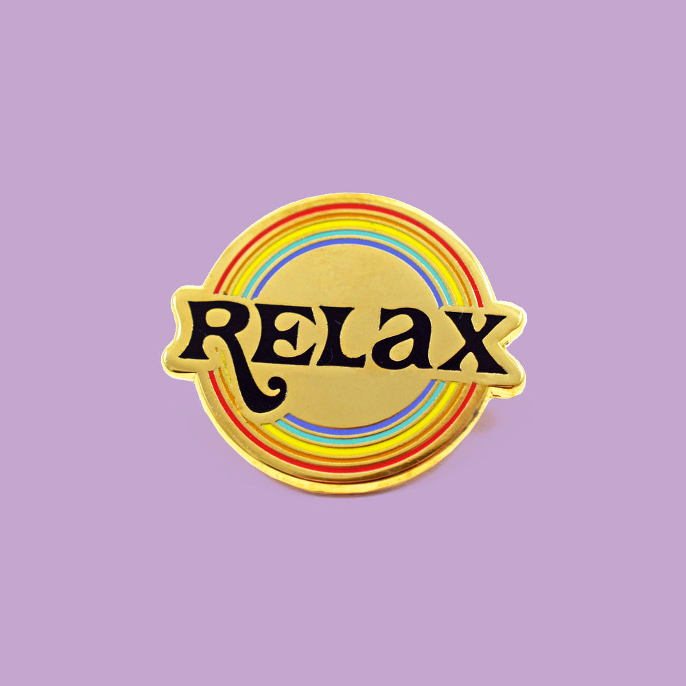 Relax Pin by Katy Jones