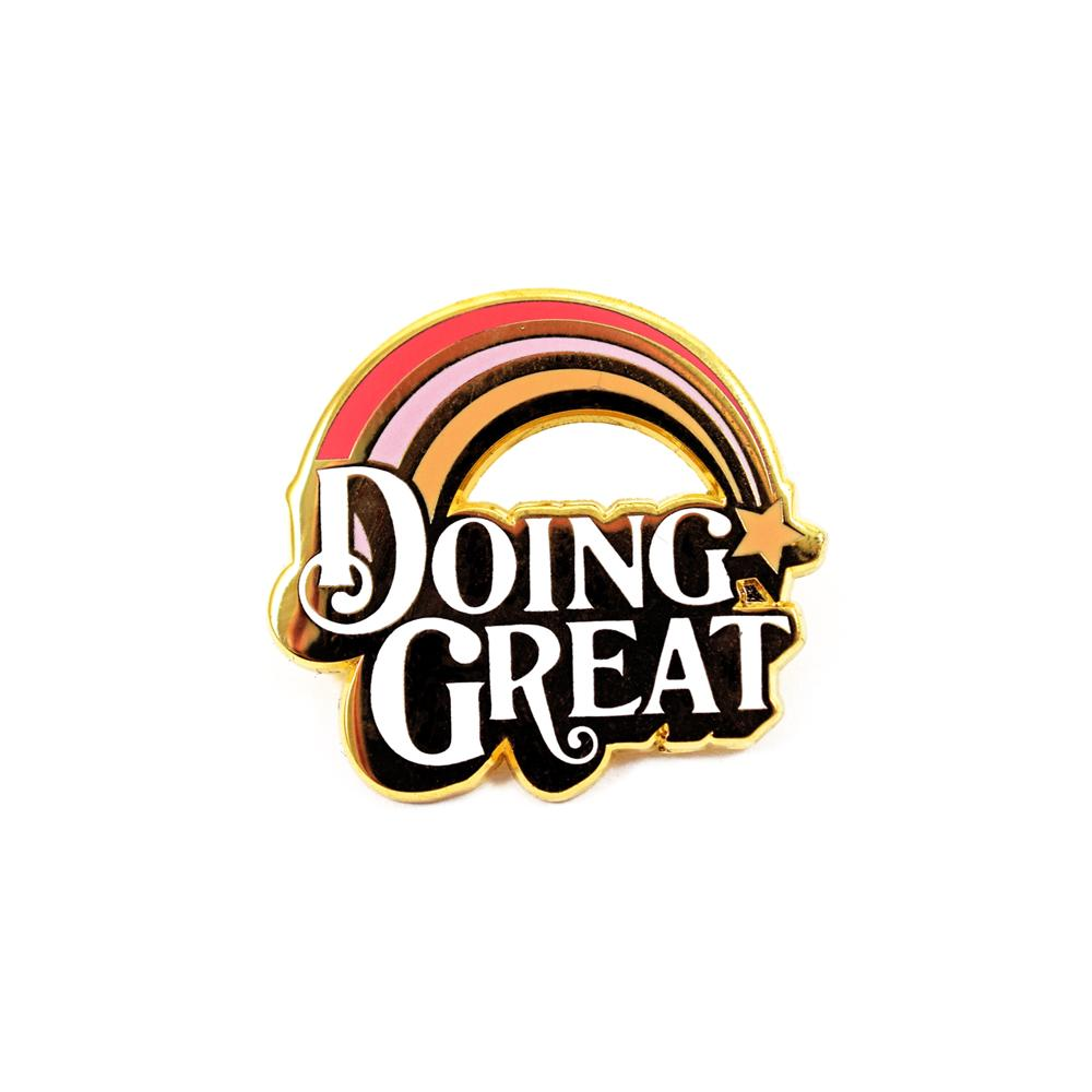 Doing Great Pin by Katy Jones
