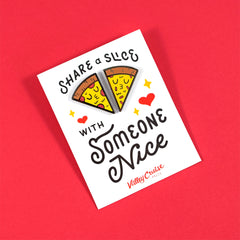 Share a Slice Pin Set by Matthew Wong