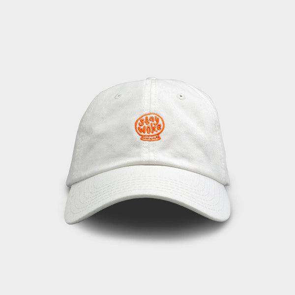 Stay Woke Dad Hat by Sage Pizza x Society6