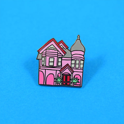 Pink House Pin by Abby Galloway