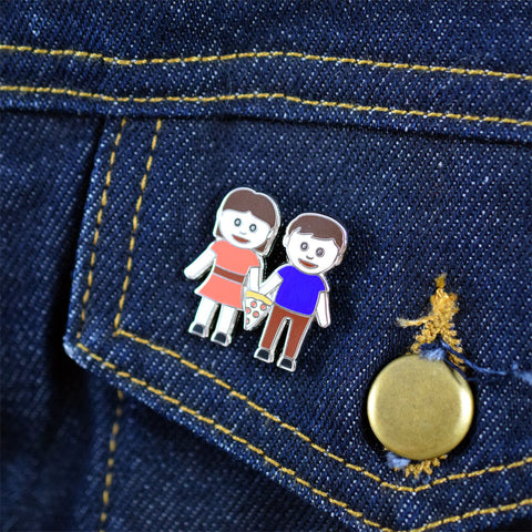 True Love Lapel Pin by Hungry Hipsters