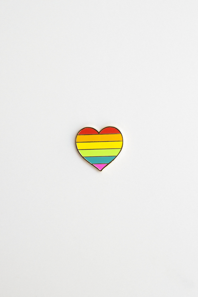 All You Need is Love Enamel Pin Card