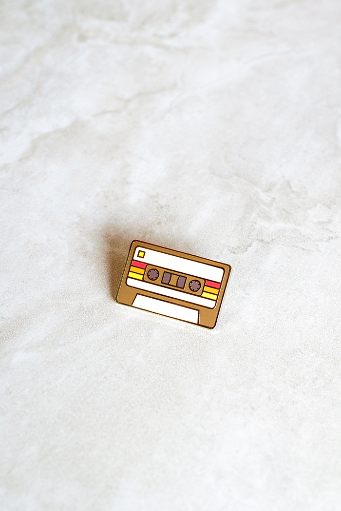 Demo Tape Cassette Pin