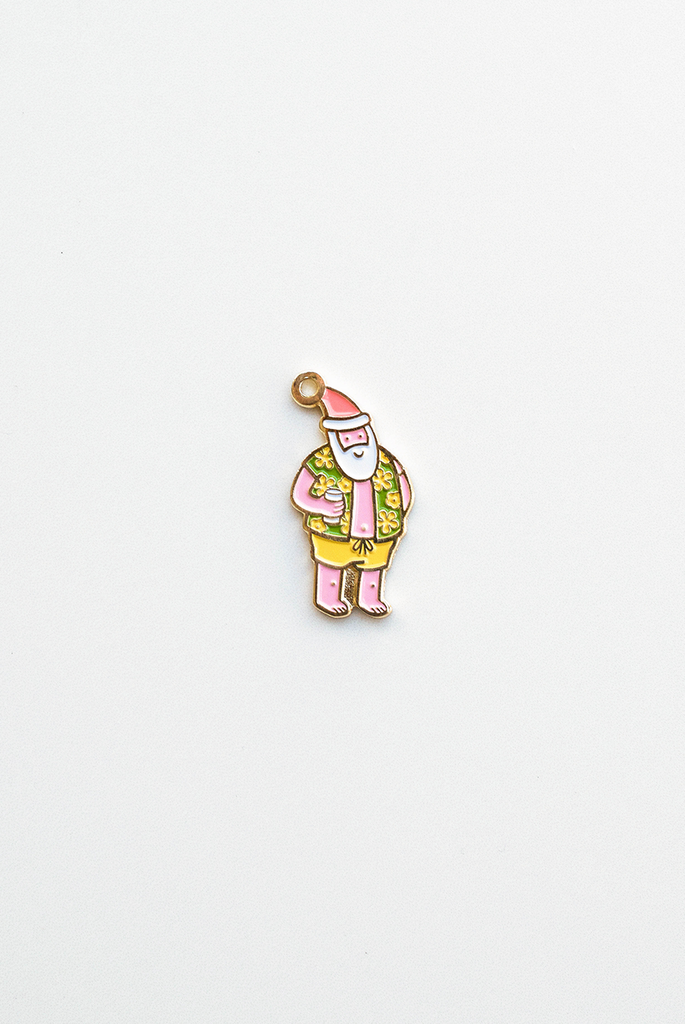 Breezy Holidays Enamel Pin Card
