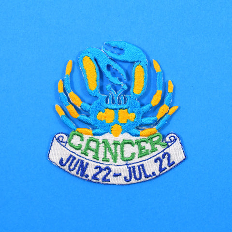 Vintage Cancer Zodiac Patch