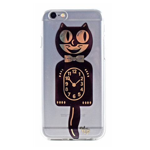 Cat Clock iPhone Case
