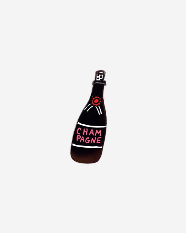 Champagne Celebration Pin by Jordan Sondler