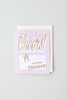 Cheers! You're Engaged! Enamel Pin Card