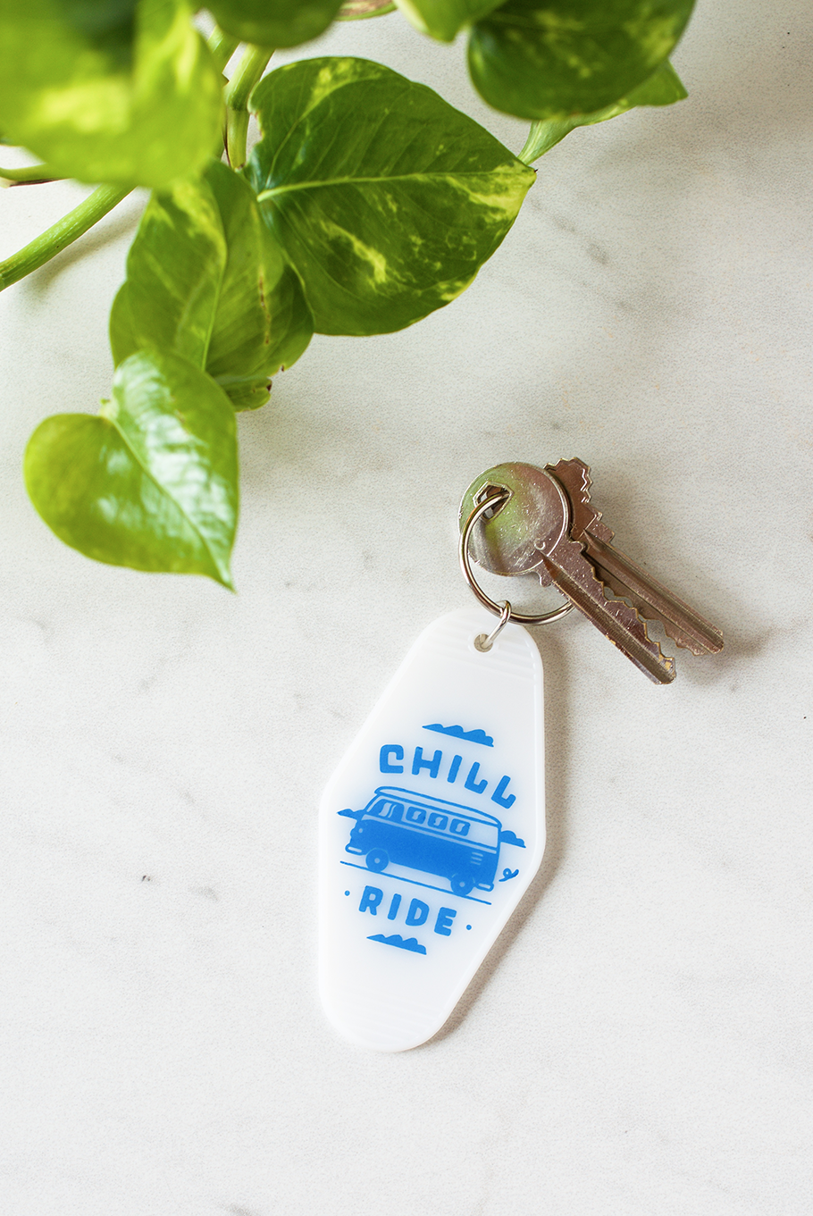 Chill Ride Keychain