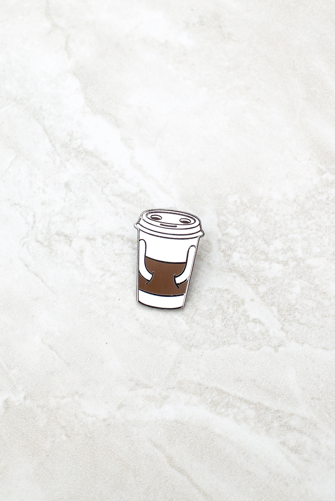 Coffee Buddy Pin by Jason Sturgill