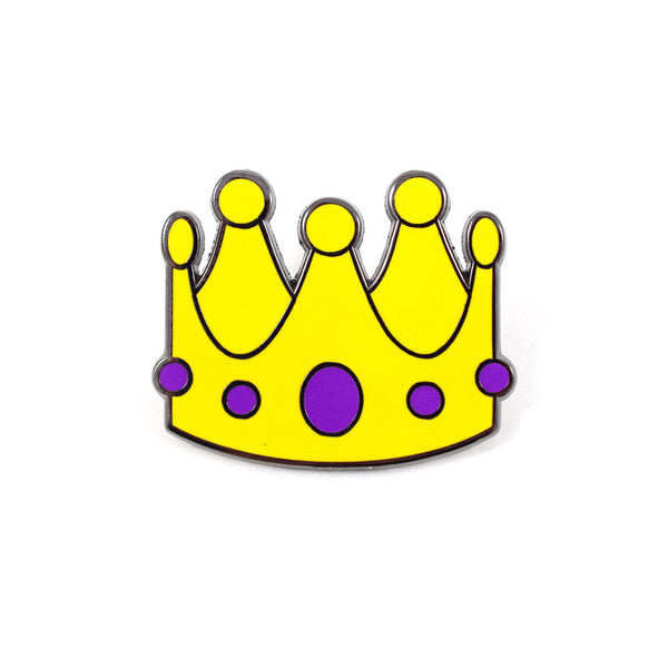 Crown Emoji Pin