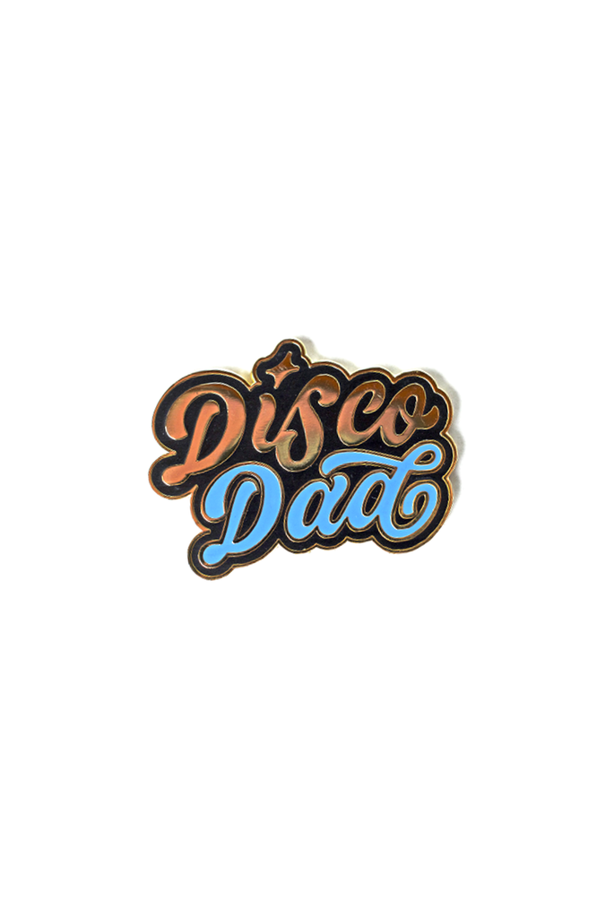 Disco Dad Card and Pin