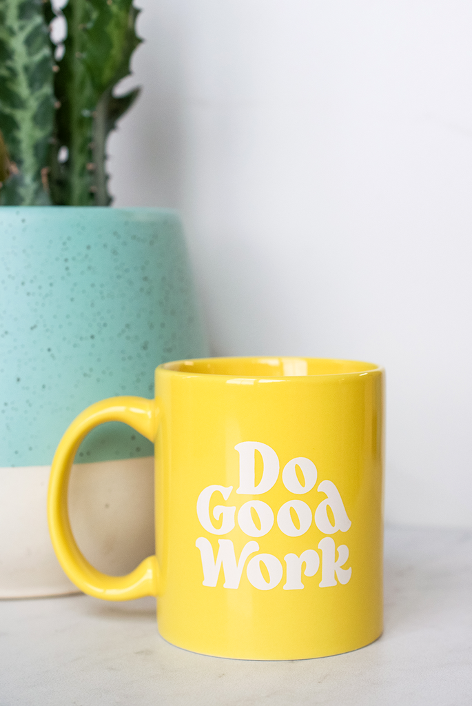 Do Good Work Mug