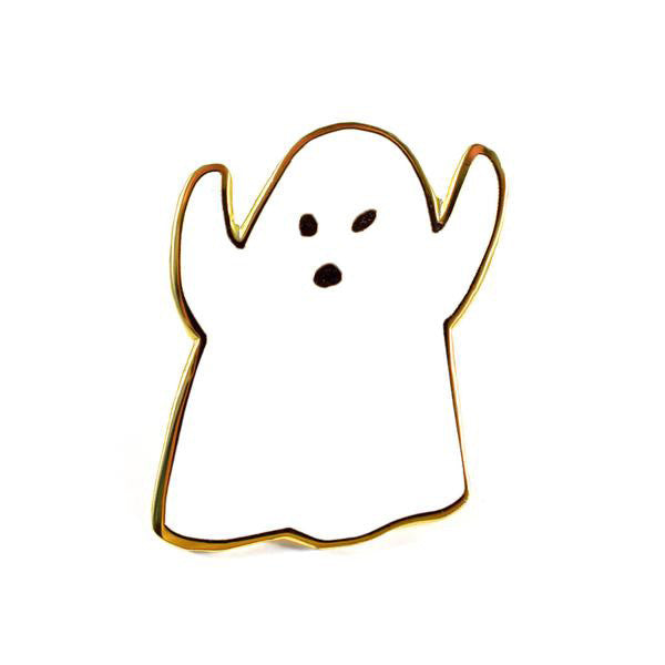 Golden Ghost Pin by Jordan Sondler