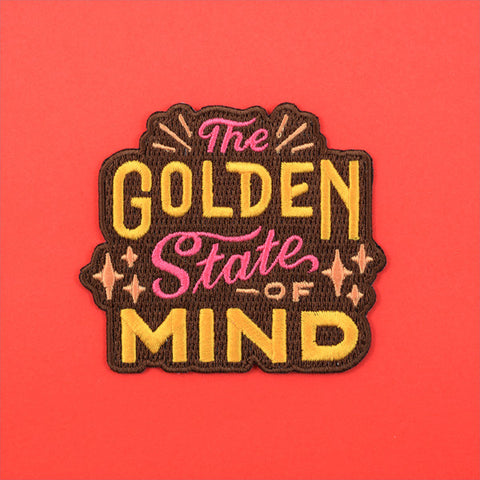 Golden State of Mind Patch