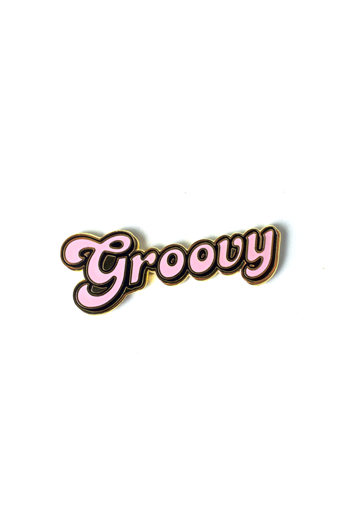 Groovy Mama Card and Pin