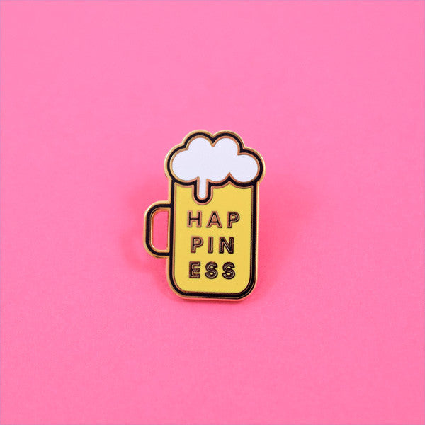 Happiness Beer Pin